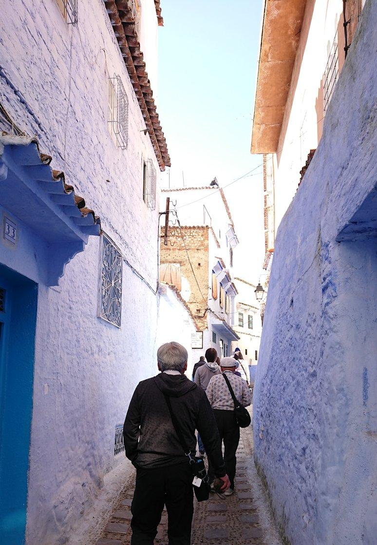 青い街シャウエンで青い壁の理由を探してみた景色6