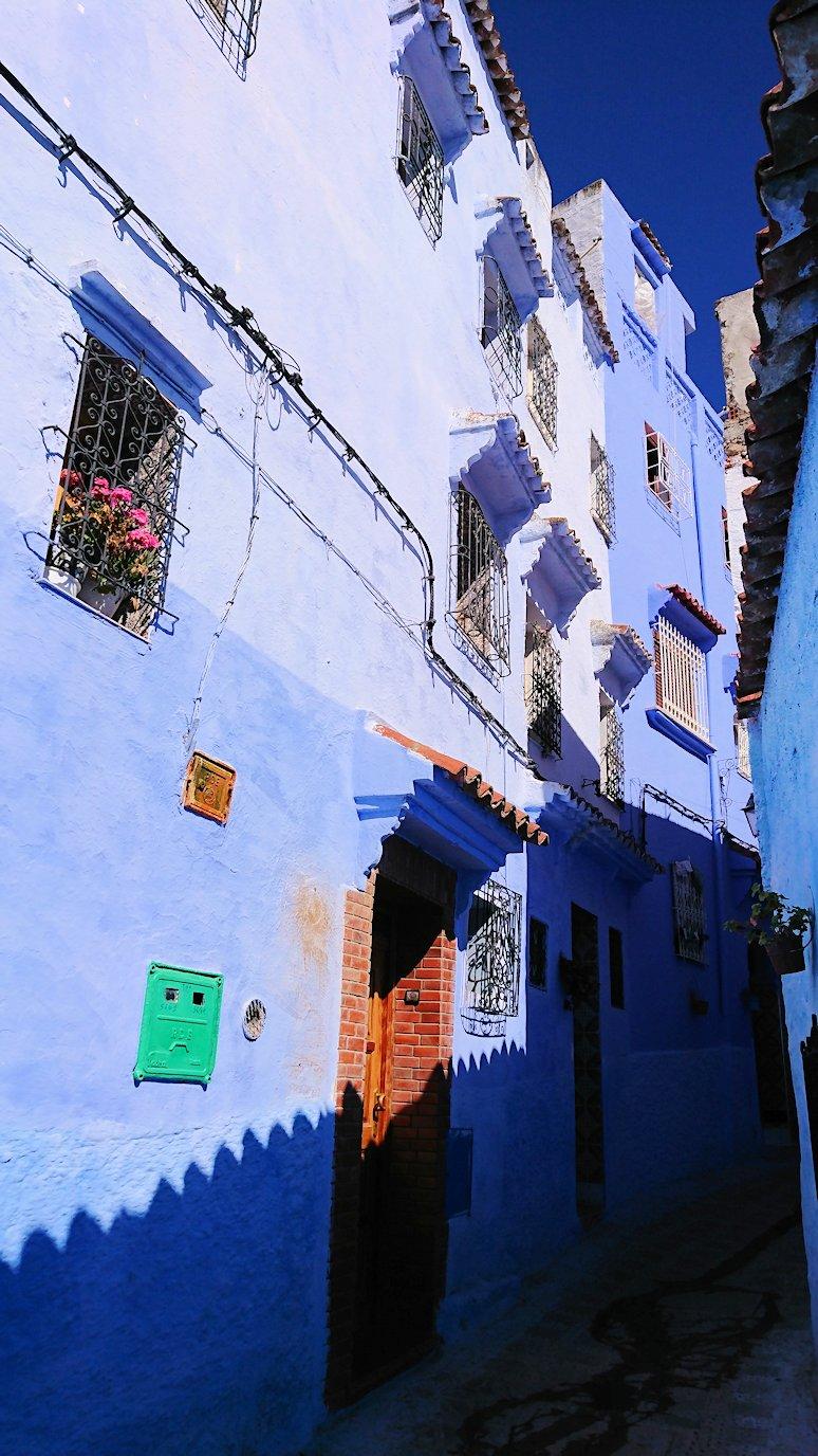 青い街シャウエンでキレイな風景を見て回る2