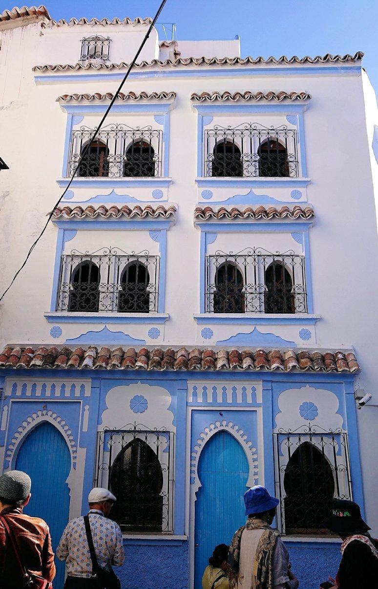 青い街シャウエンでキレイな風景を見て回る3