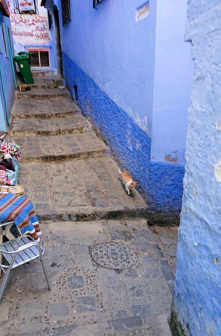 モロッコのシャウエンの街で辺りをブラブラ歩く2