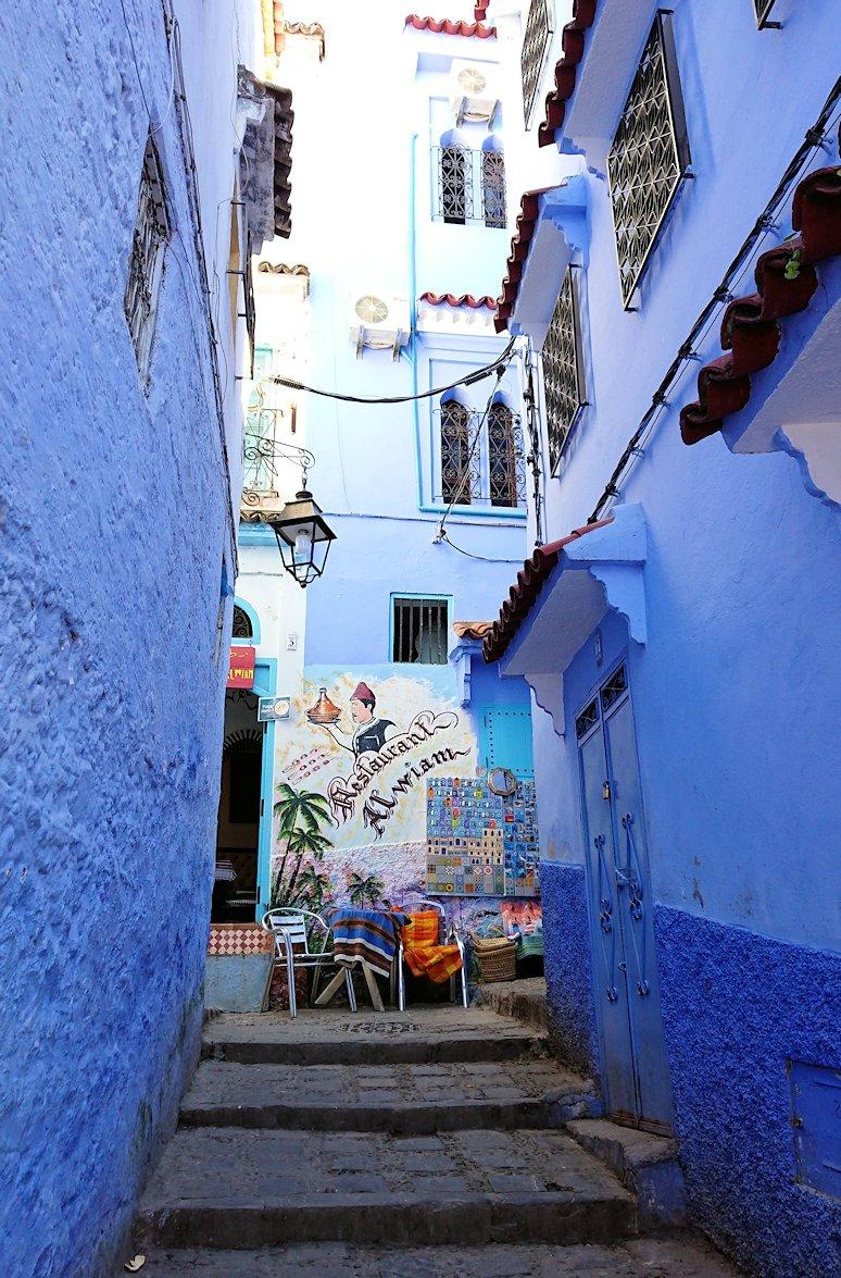 モロッコのシャウエンの街で辺りをブラブラ歩く5