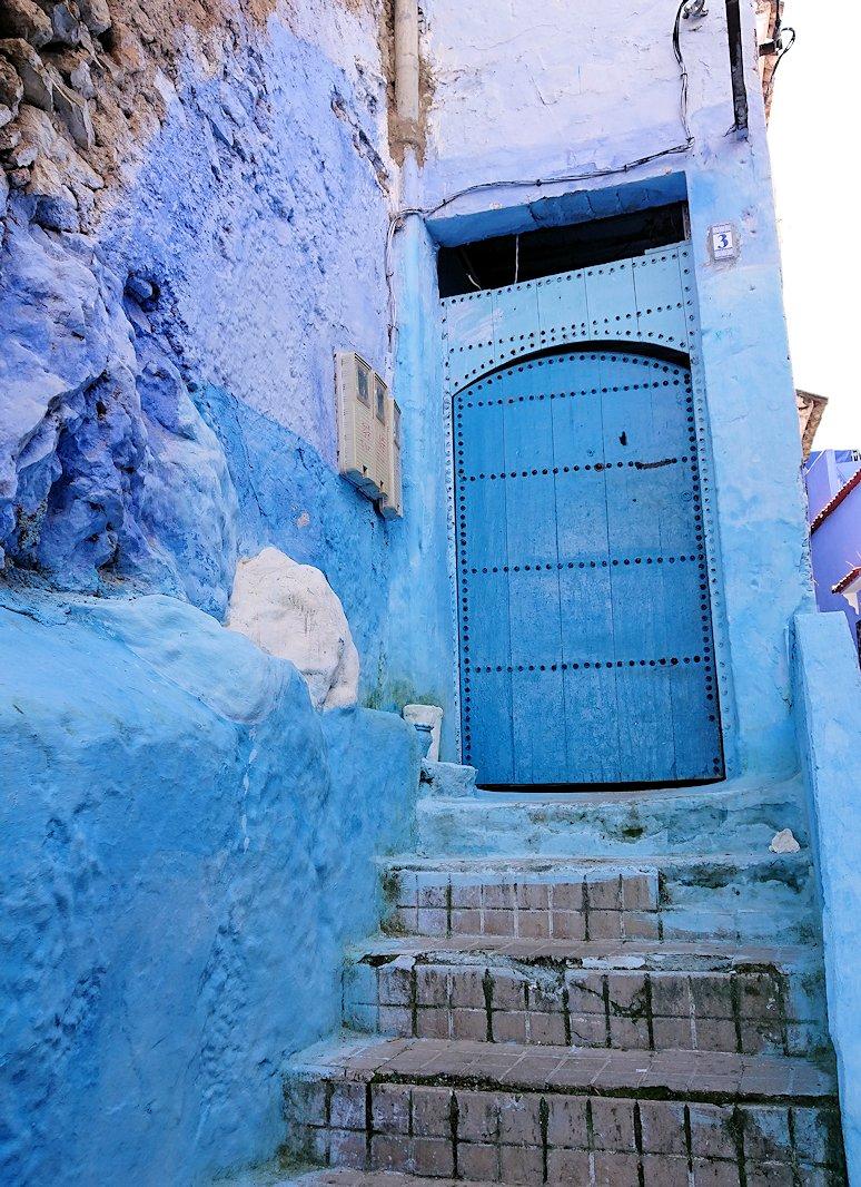 モロッコのシャウエンの街で辺りをブラブラ歩く9