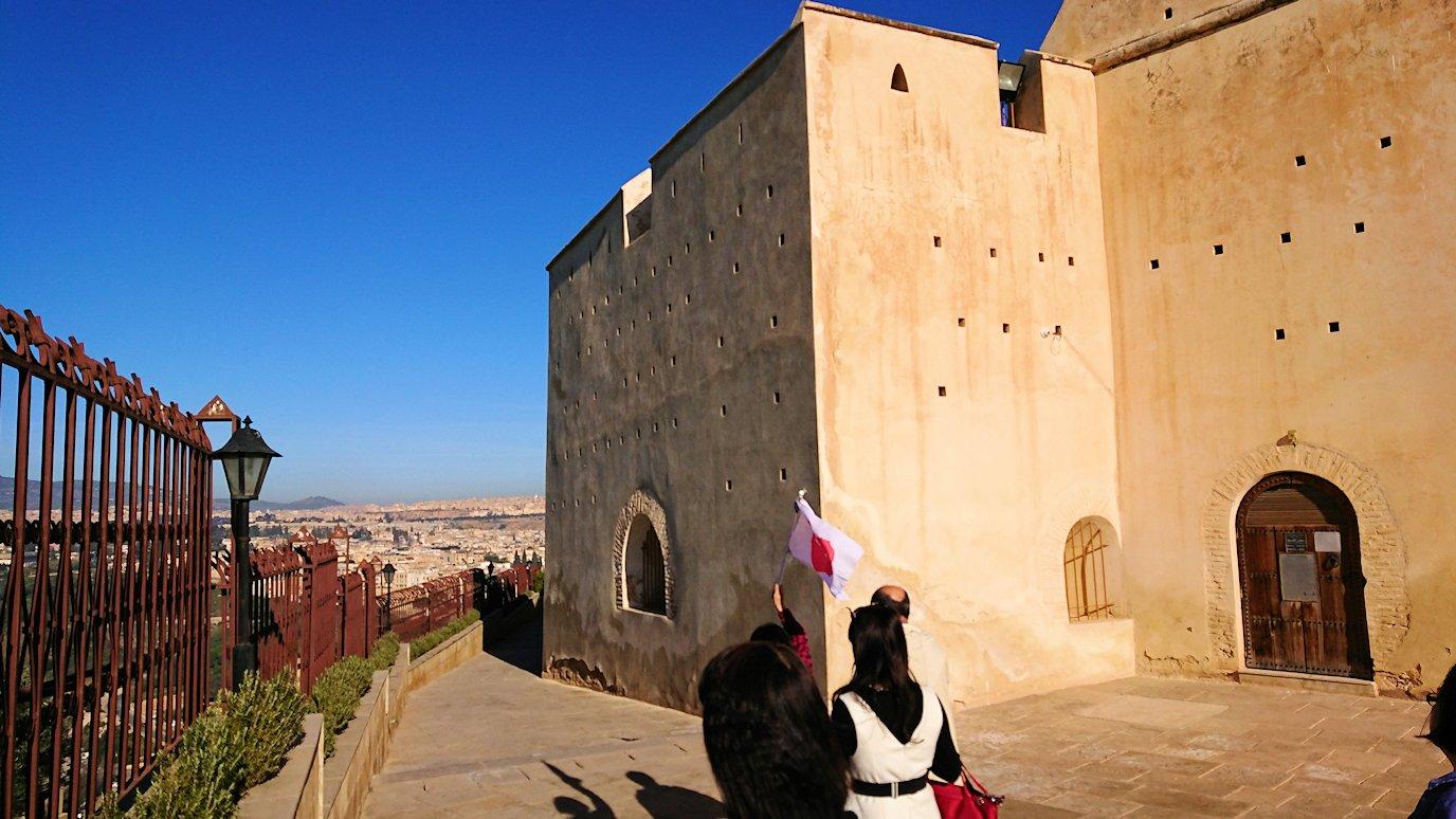 フェズの街を見下ろす高台の南の砦からの景色3