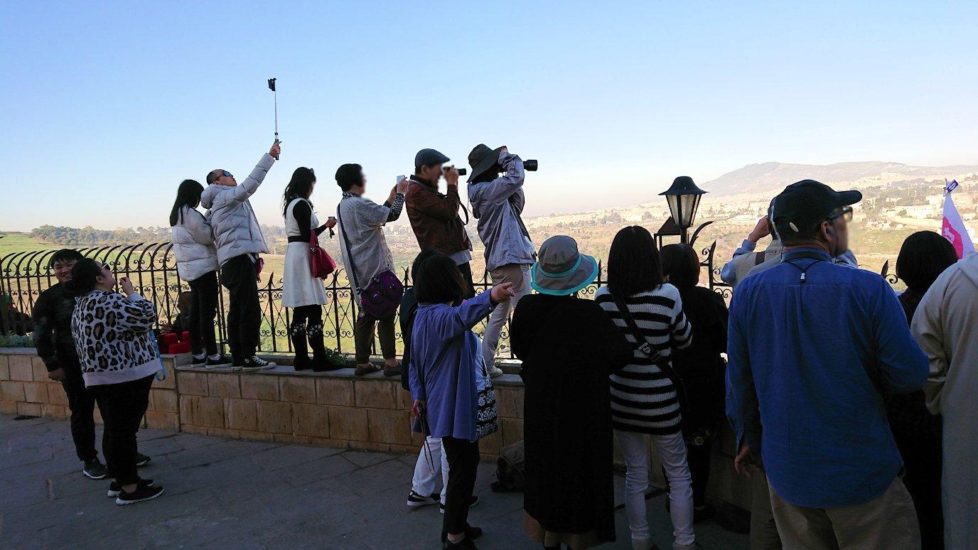 フェズの街を見下ろす高台の南の砦からの見晴らし1