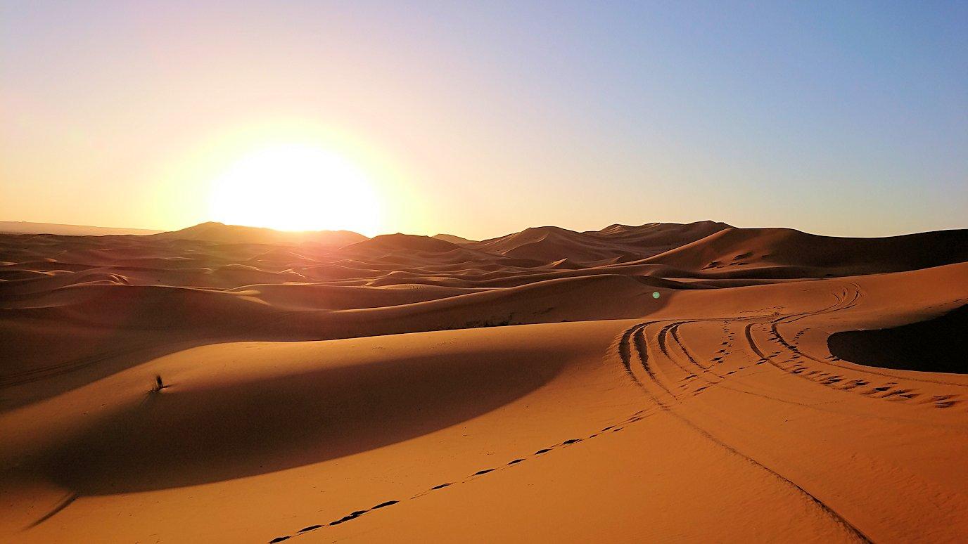 メルズーガでのサハラ砂漠の絶景、景色