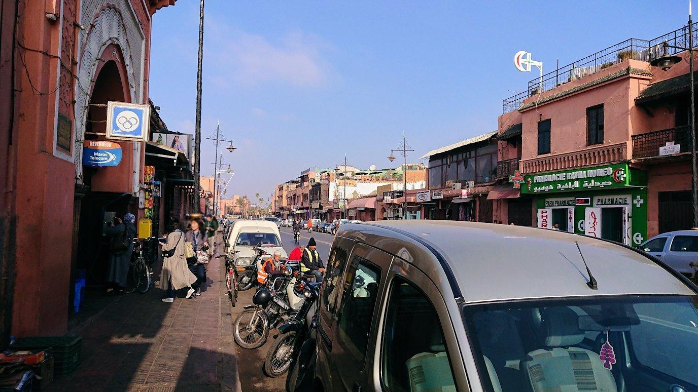 モロッコのマラケシュで旧市街地(メディナ)で見かけたもの3