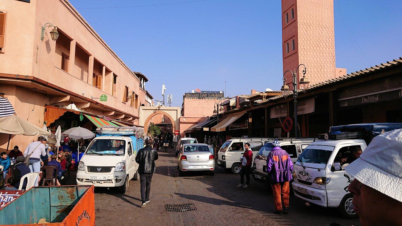モロッコのマラケシュで旧市街地(メディナ)で見かけたもの8