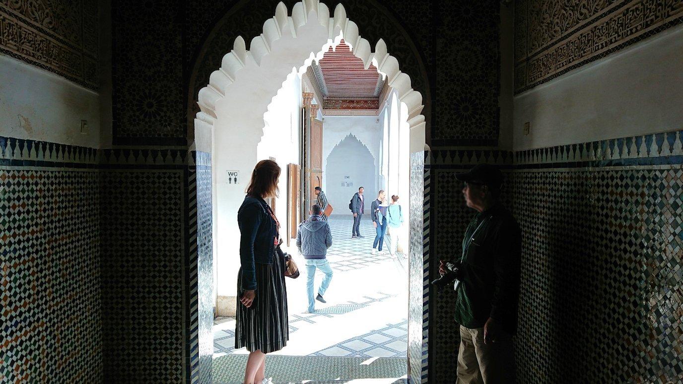 モロッコのマラケシュでバヒア宮殿を楽しく見学1