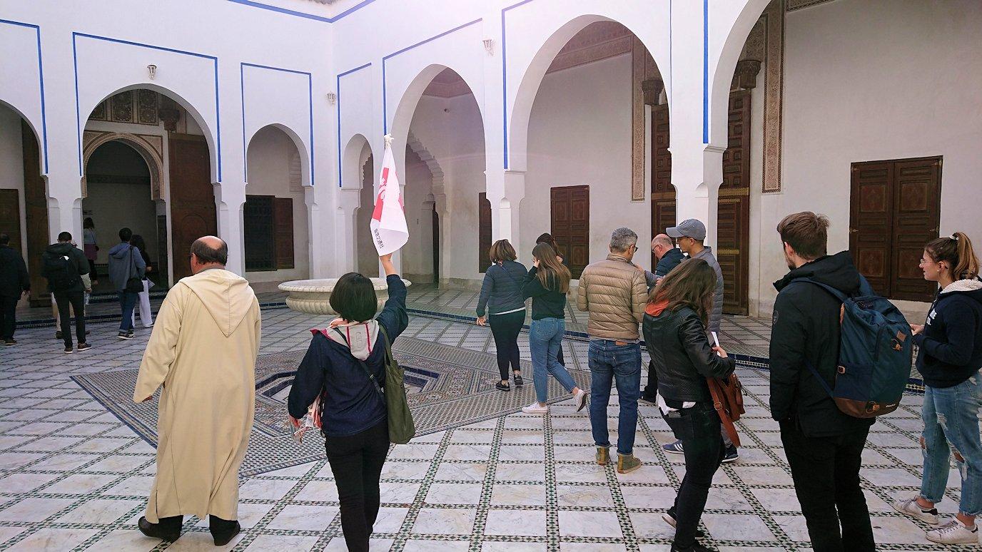 モロッコのマラケシュでバヒア宮殿を楽しく見学2