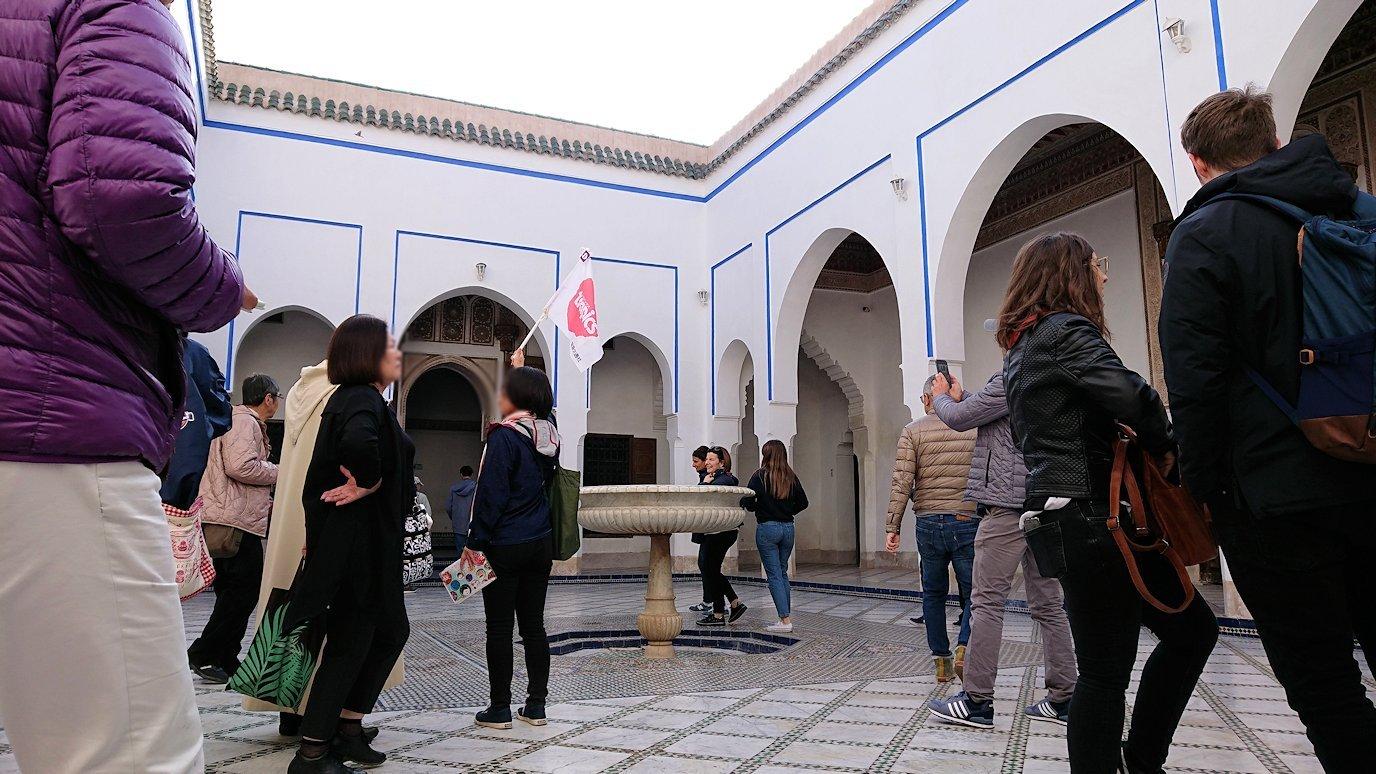 モロッコのマラケシュでバヒア宮殿を楽しく見学3