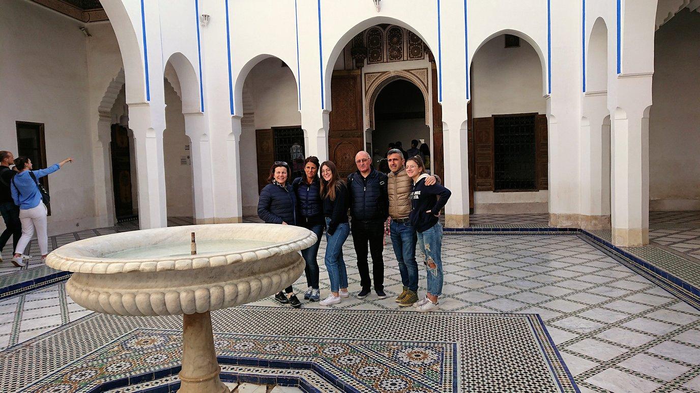 モロッコのマラケシュでバヒア宮殿を楽しく見学4