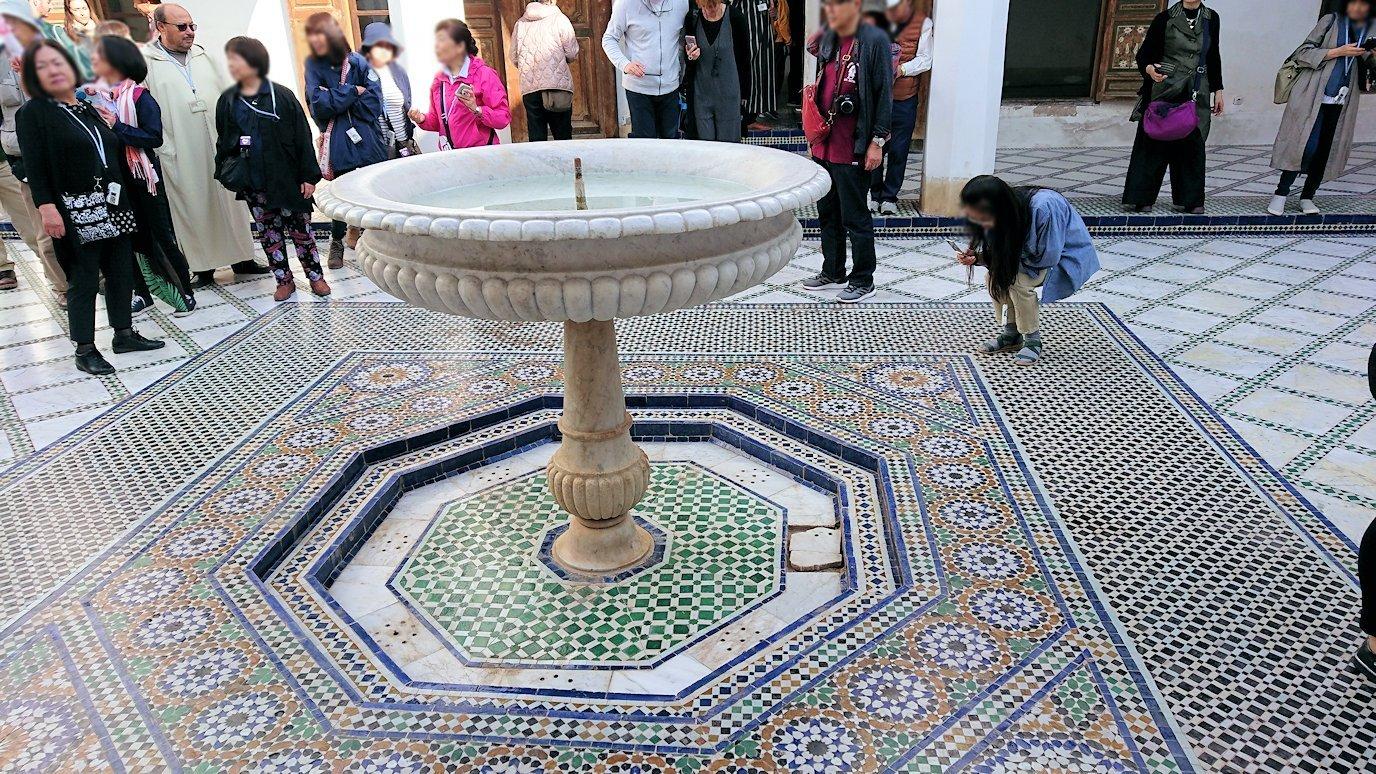モロッコのマラケシュでバヒア宮殿を楽しく見学5