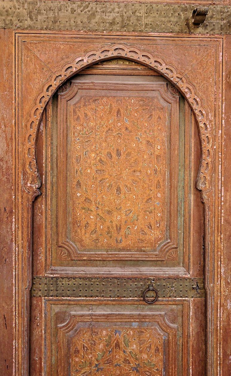 モロッコのマラケシュでバヒア宮殿を楽しく見学7