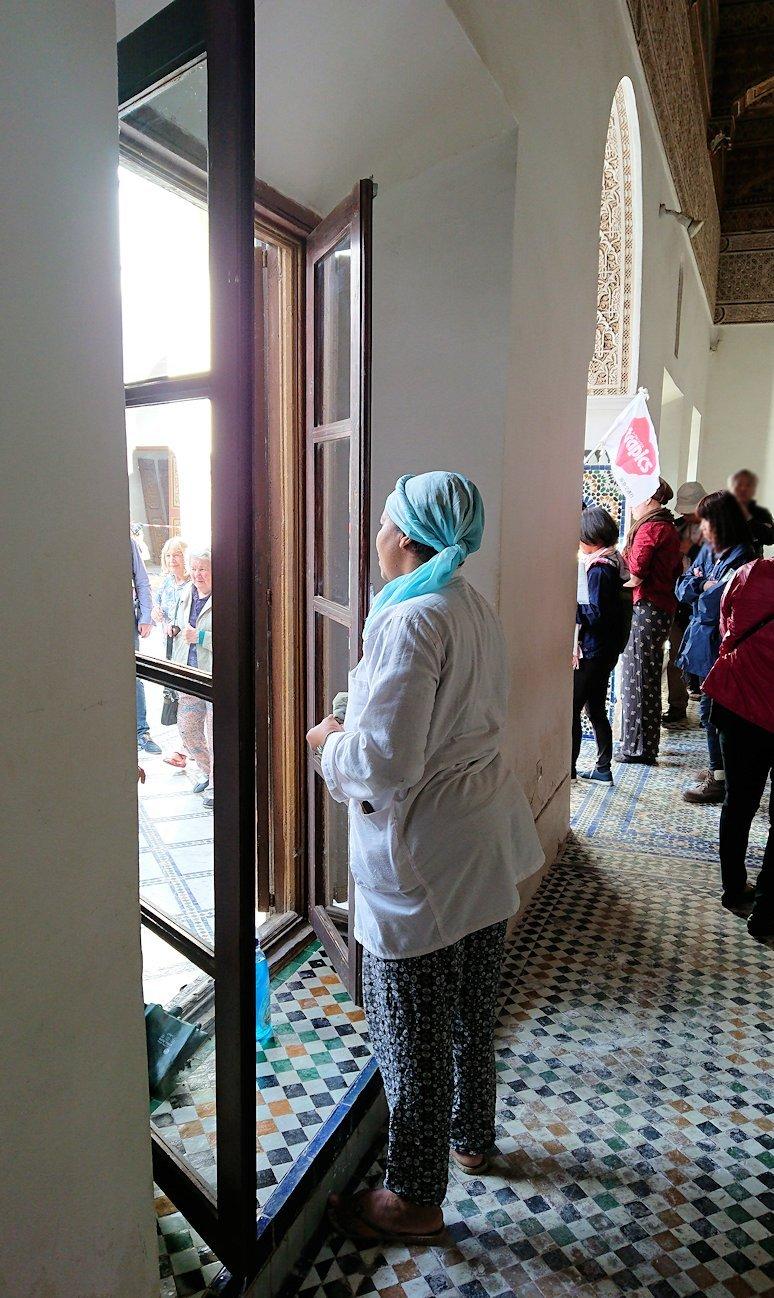 モロッコのマラケシュでバヒア宮殿を楽しく見学9