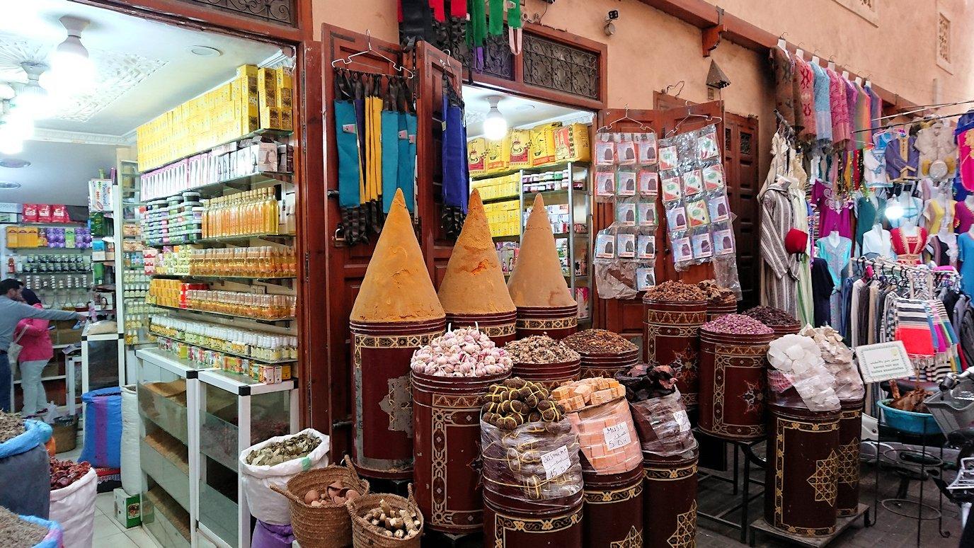 モロッコのマラケシュでバヒア宮殿の周辺で猫の撮影に夢中9