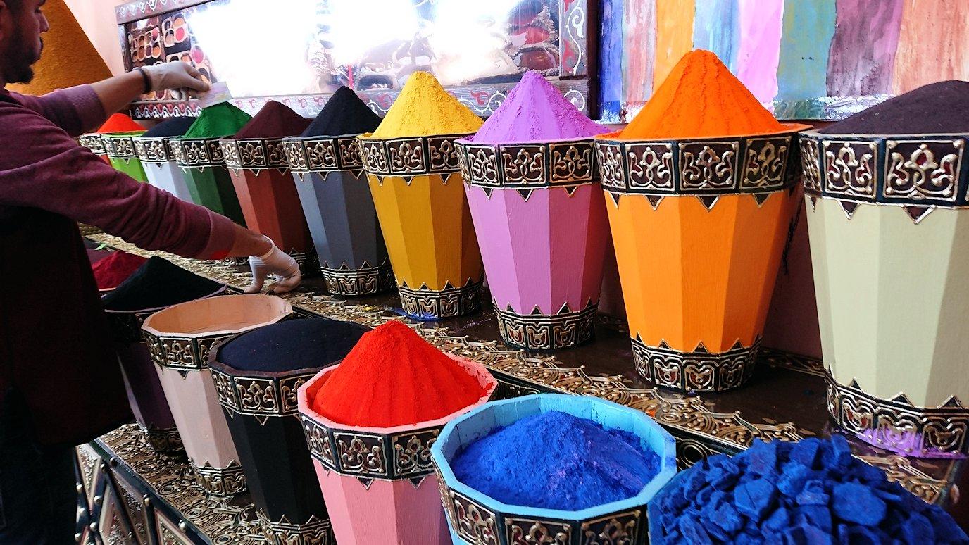 モロッコのマラケシュでバヒア宮殿から次の目的地に移動4
