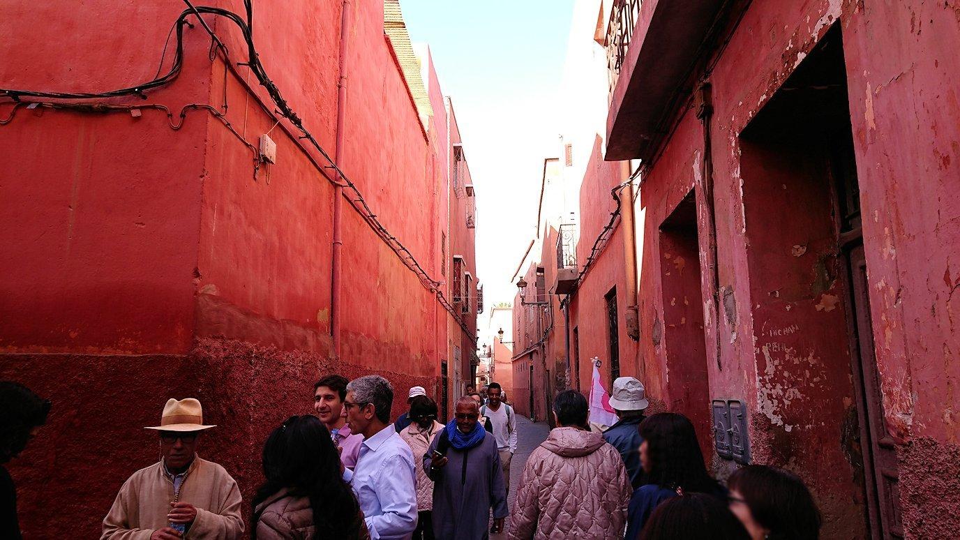 モロッコのマラケシュでバヒア宮殿から次の目的地に移動途中に見かけたもの7