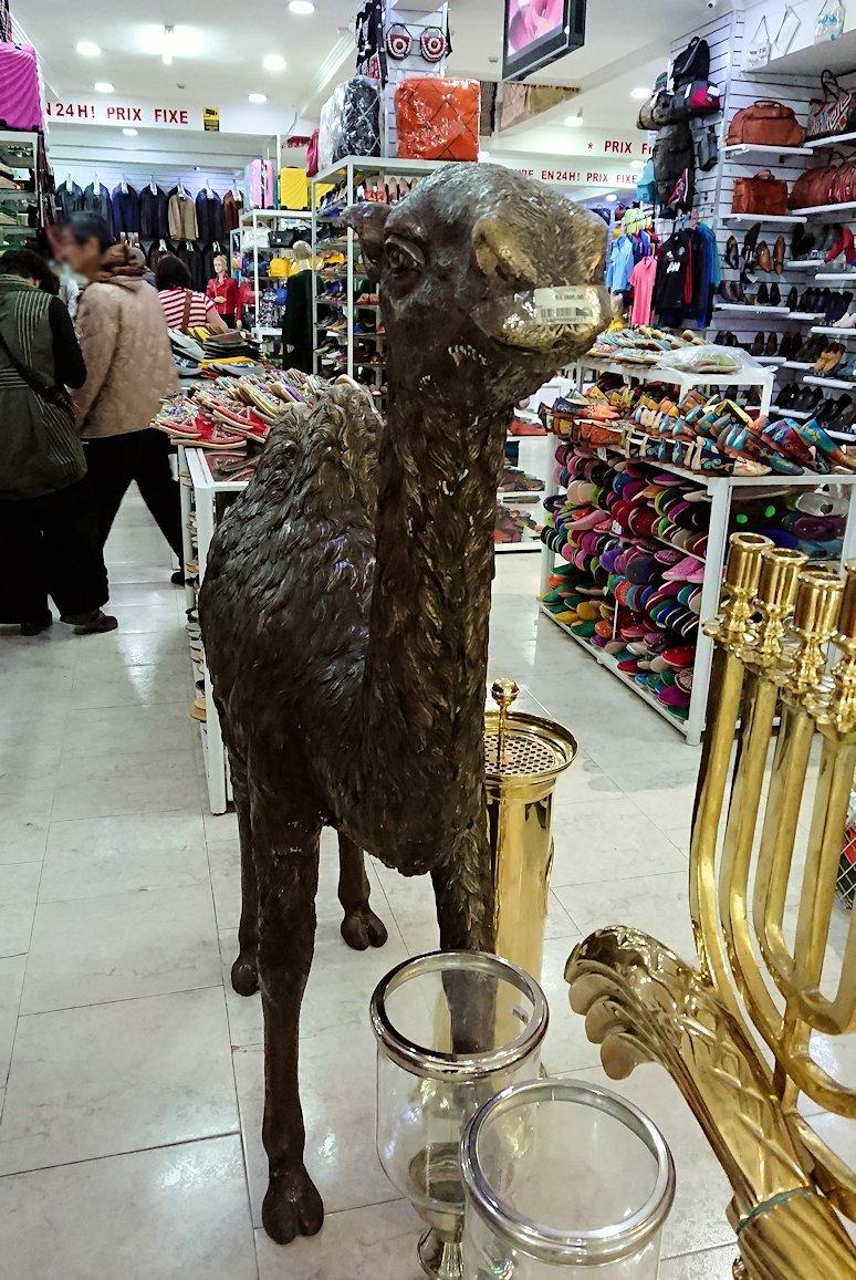 モロッコ・マラケシュのサアード朝近くの総合お土産物店で見つけたものとは