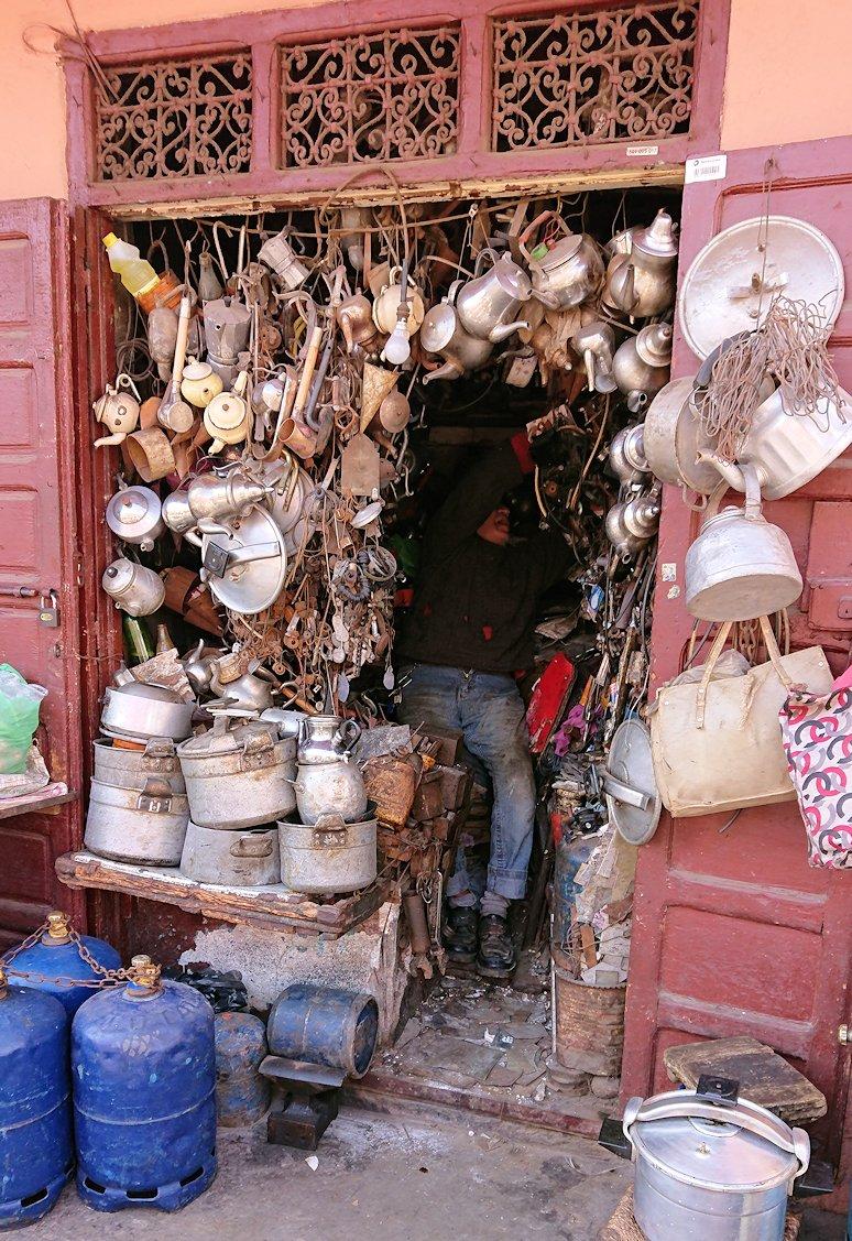モロッコ・マラケシュのサアード朝近くの総合お土産物店で見つけたものとは7