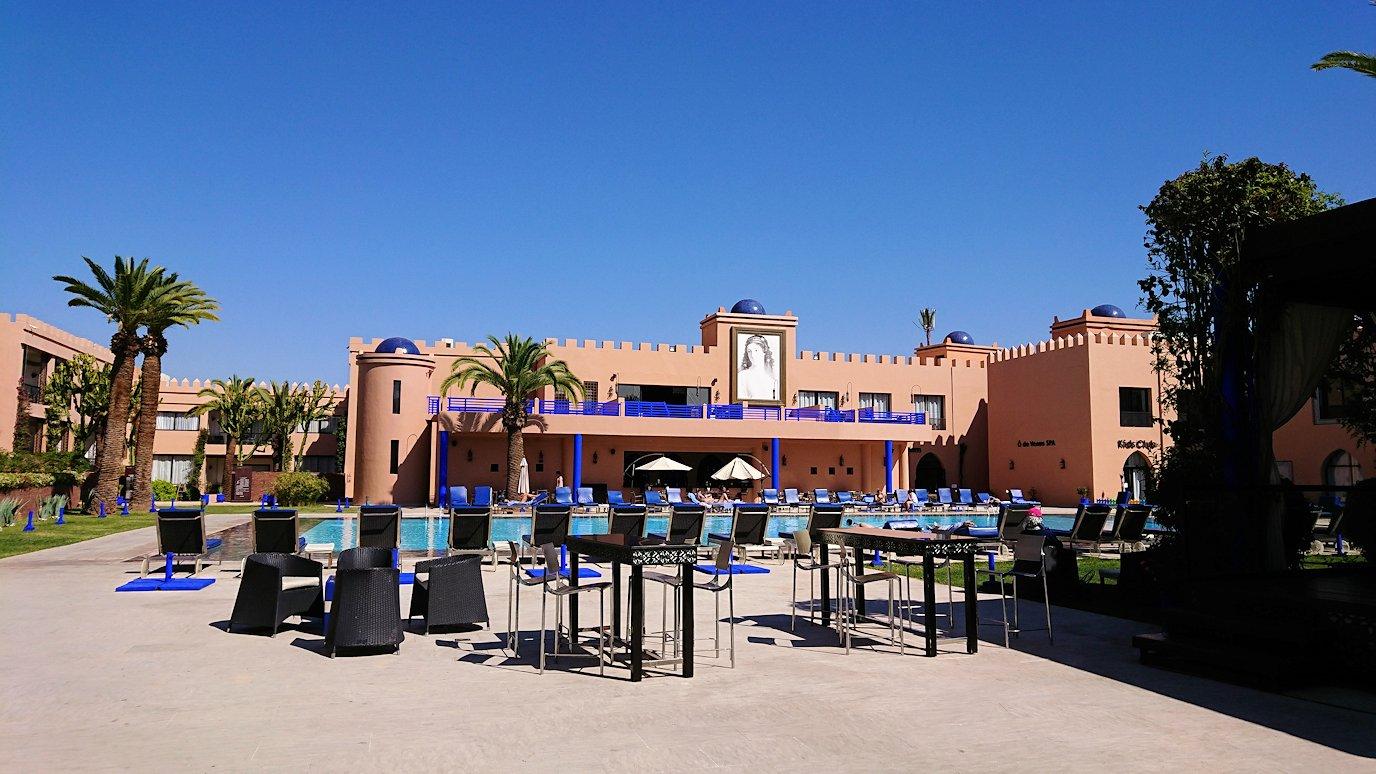 モロッコ・マラケシュで一旦ホテルで休憩3