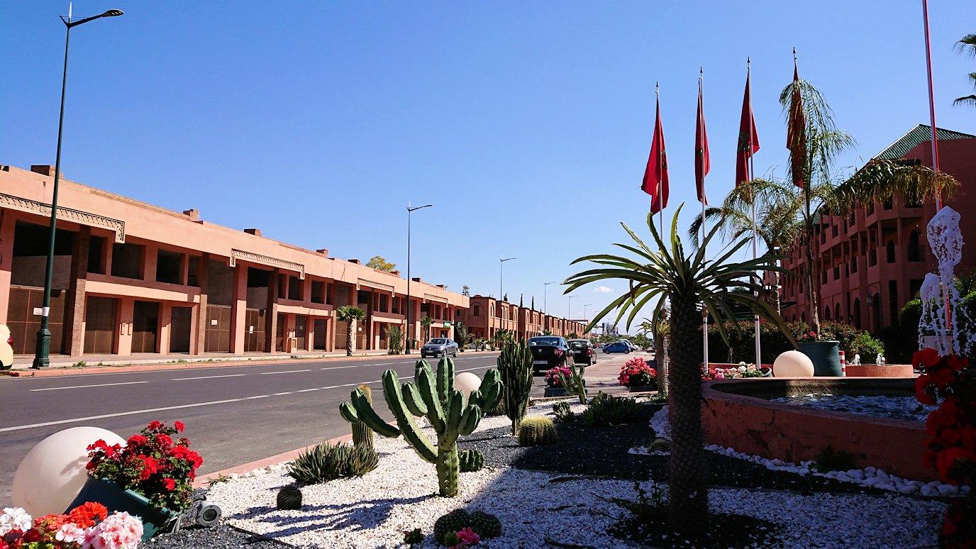 モロッコ・マラケシュで一旦ホテルで休憩7