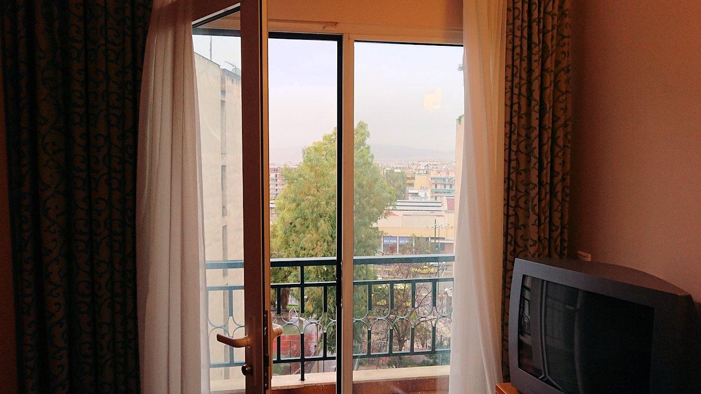 アテネのオスカーホテルをチェックアウト