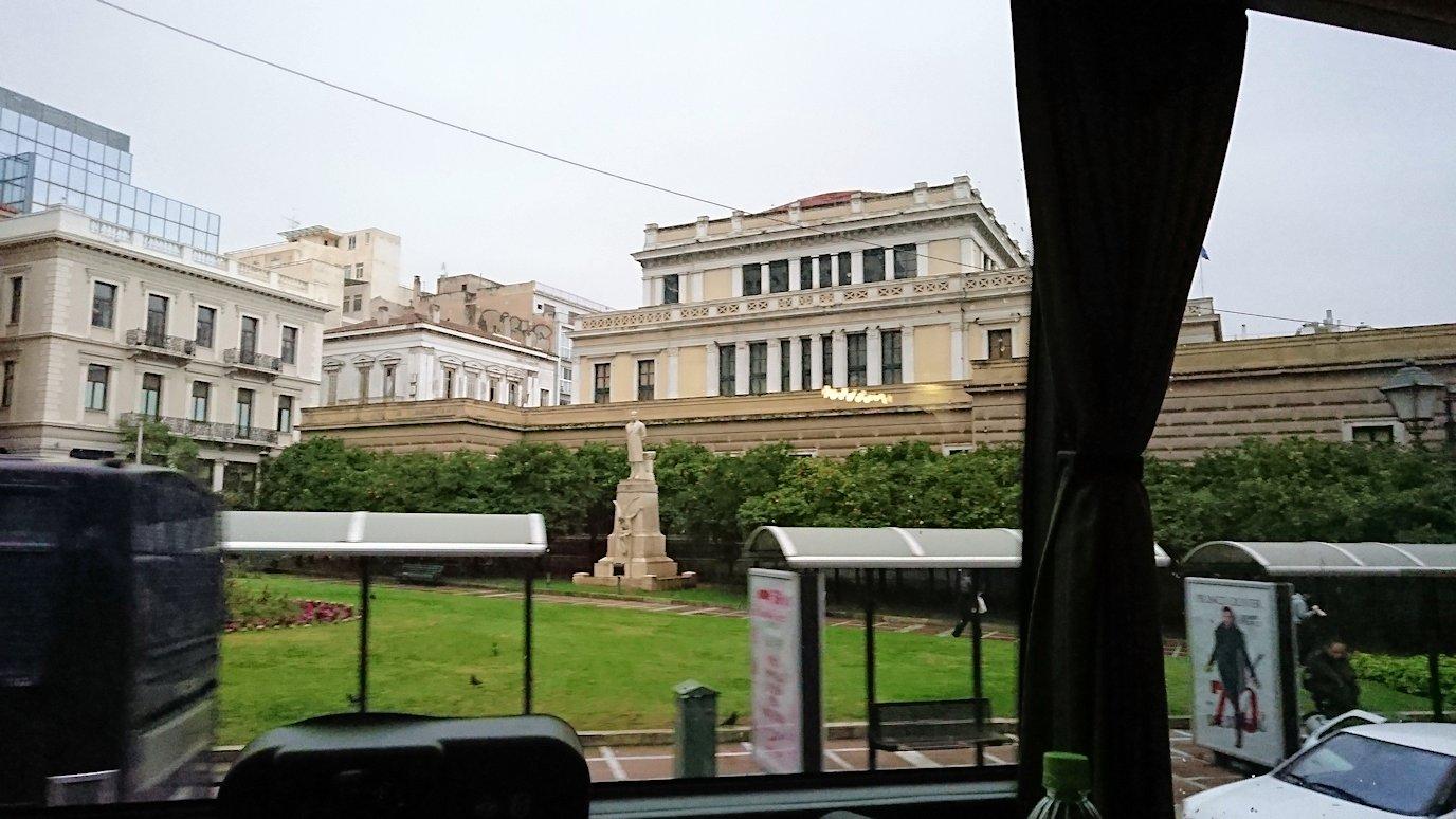 アテネ市内をバスで移動8