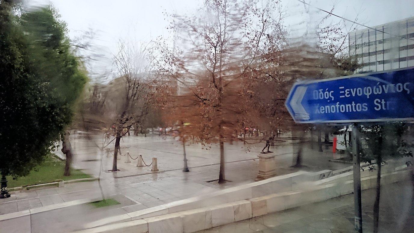 アテネ市内をバスで再び移動
