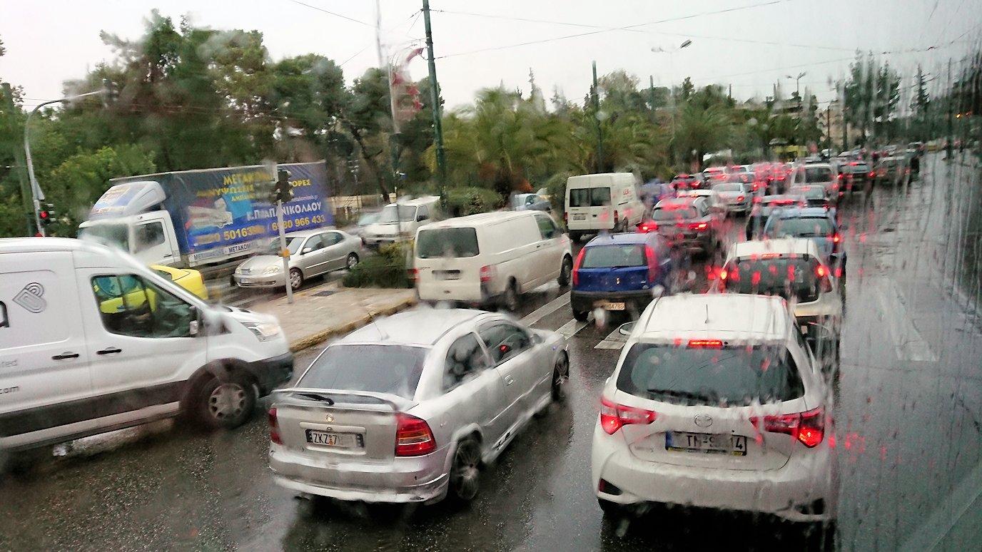 アテネ市内をバスで再び移動3