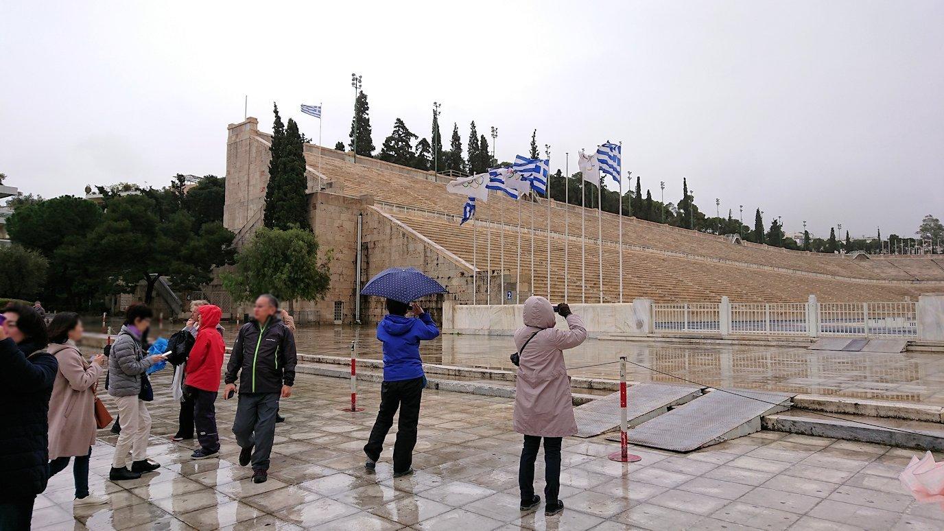 アテネ市内のパナティナイコ・スタジアムを見る2