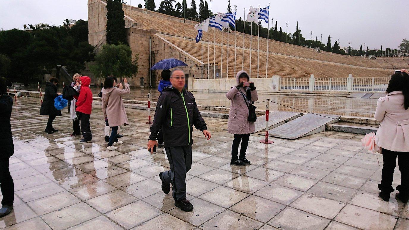 アテネ市内のパナティナイコ・スタジアムを見る3