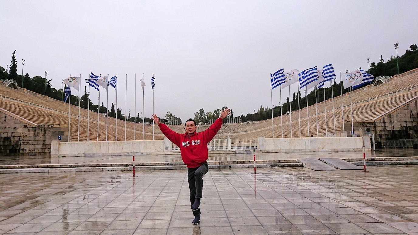 アテネ市内のパナティナイコ・スタジアムを見る5