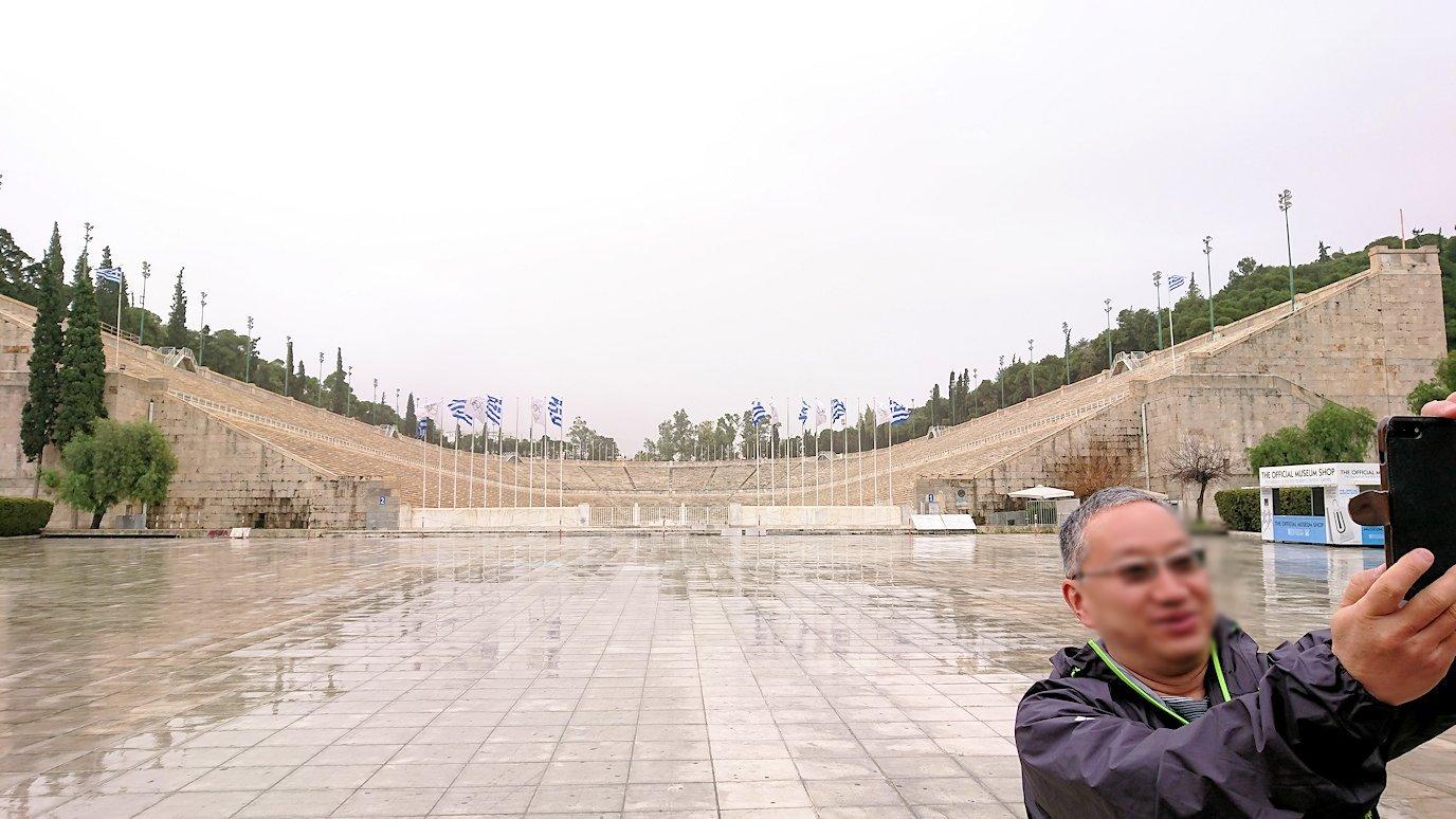 アテネ市内のパナティナイコ・スタジアムを見る6