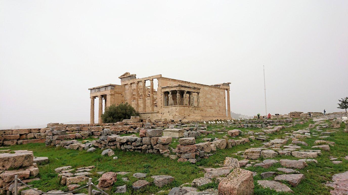 ギリシャのアクロポリス遺跡にてパルテノン神殿とご対面3