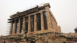 アクロポリス遺跡のパルテノン神殿を再び見てみる3