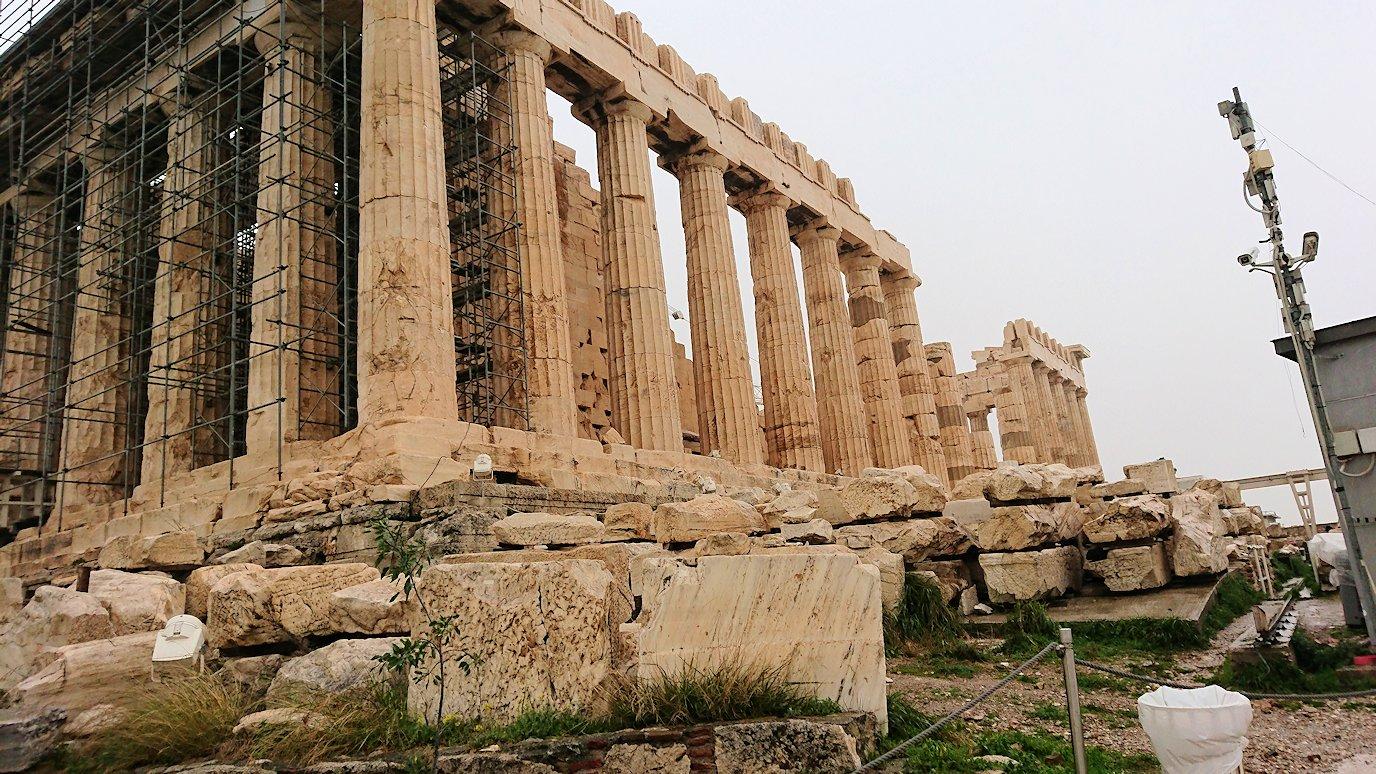 アクロポリス遺跡のパルテノン神殿を再び見てみる6