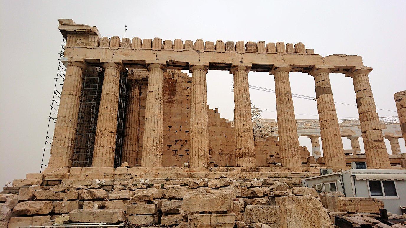 アクロポリス遺跡のパルテノン神殿を再び見てみる5