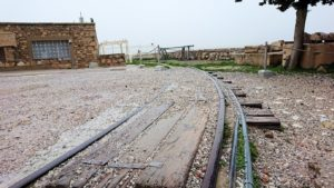 アクロポリス遺跡のパルテノン神殿の南側の景色4