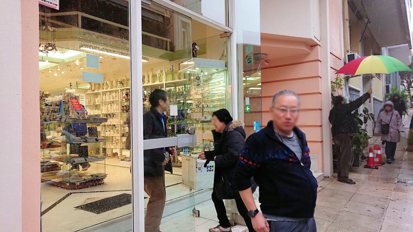 アテネ市内のお土産物屋さんを訪問する3