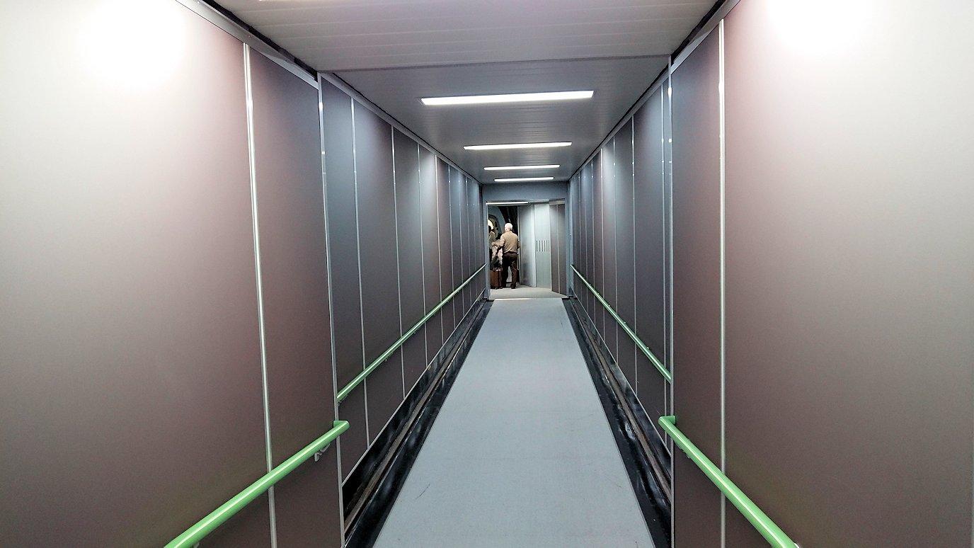 関西国際空港でいざビジネスクラスに搭乗開始2