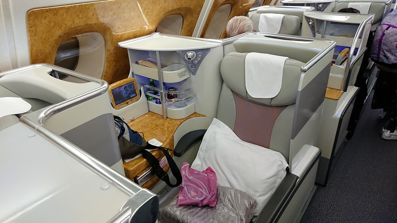 関西国際空港でいざビジネスクラスに搭乗開始4