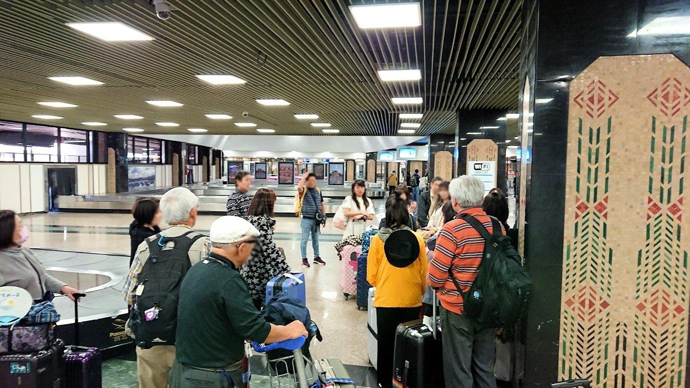カサブランカ空港で受け取った荷物2