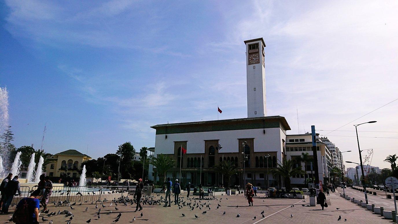 カサブランカのムハンマド5世広場に到着4