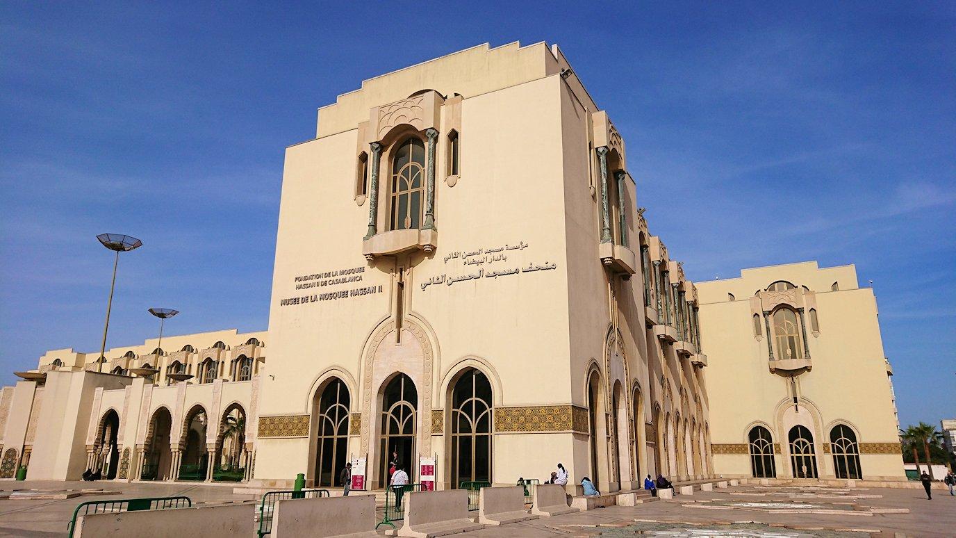 カサブランカのハッサン2世モスクに到着
