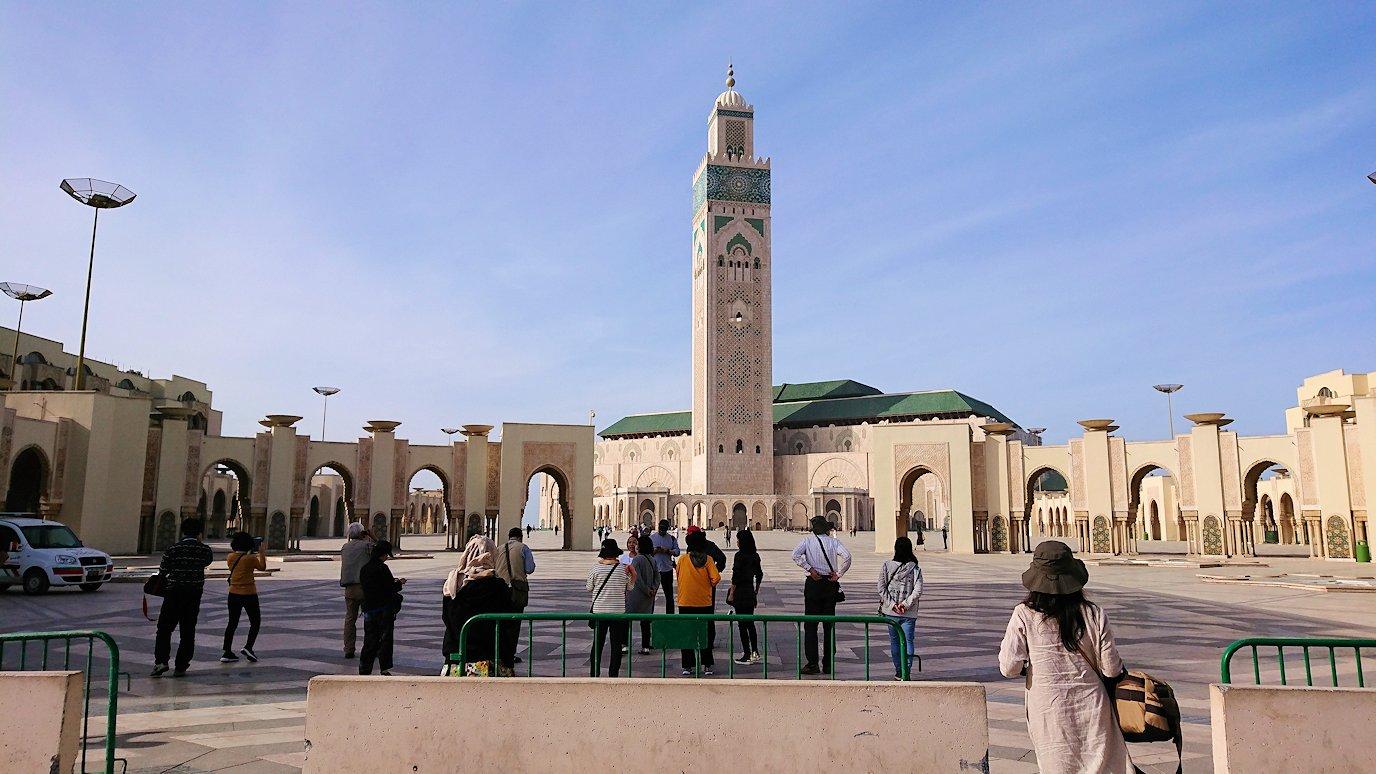 カサブランカのハッサン2世モスクに到着4