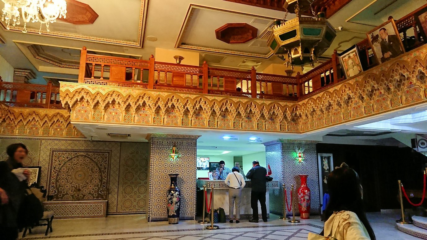 ラバトのホテルの様子2