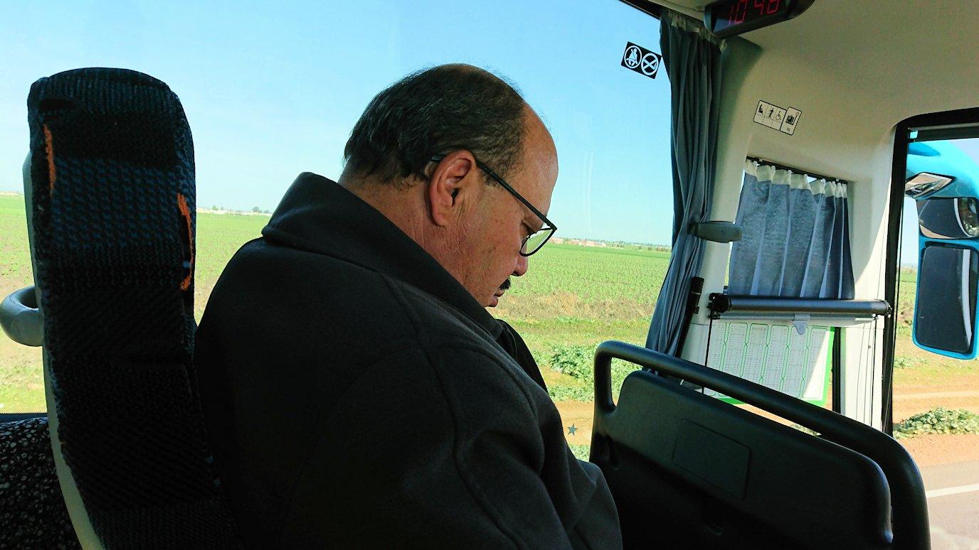 バスでラバトからシャウエンに向かう途中の景色