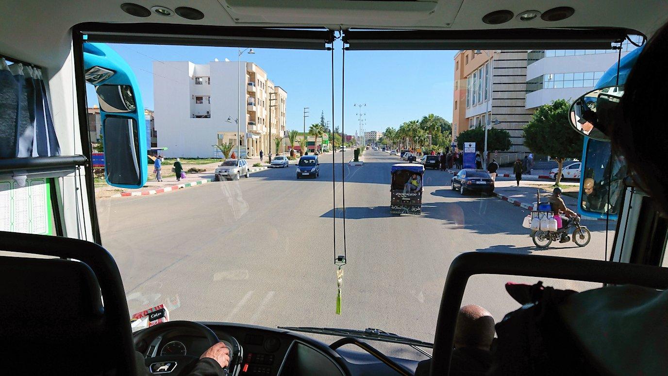バスでラバトからシャウエンに向かう途中の景色3