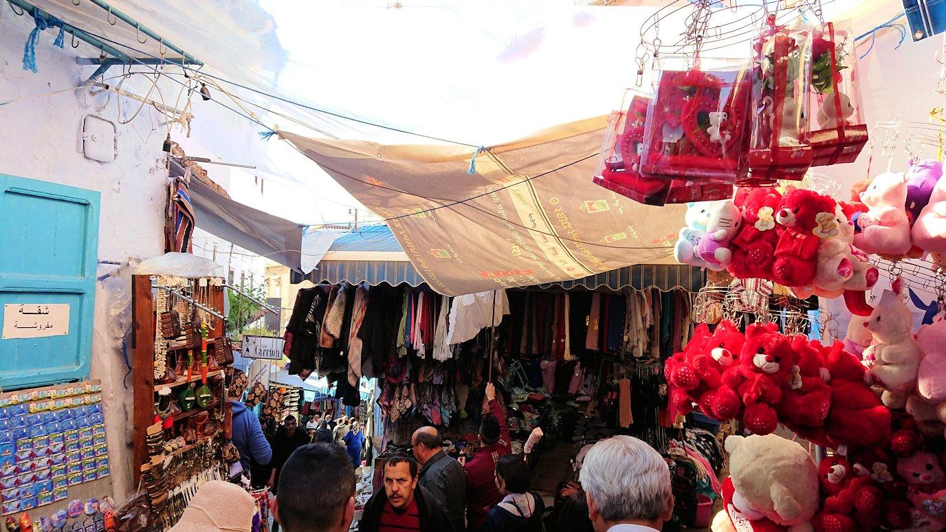 モロッコのシャウエンの街で観光が終了し戻る3
