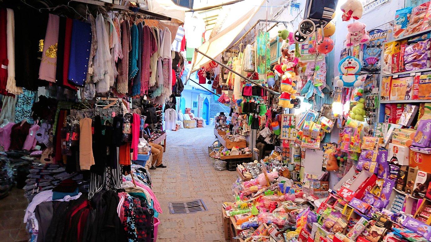 モロッコのシャウエンの街で観光が終了し戻る4